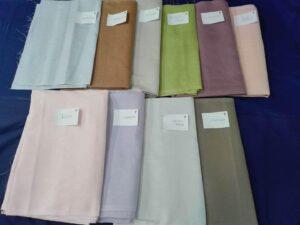 offerta speciale asciugamani puro lino colorato
